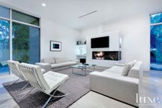 Sleek, All-White Residence with a Minimal Aesthetic | LuxeSource | Luxe Magazine - The Luxury Home Redefined