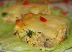 BUDINCA DE CIUPERCI CU DOVLECEI Romanian Food, Lasagna, Mashed Potatoes, Veggies, Diet, Chicken, Ethnic Recipes, Cakes, Pie