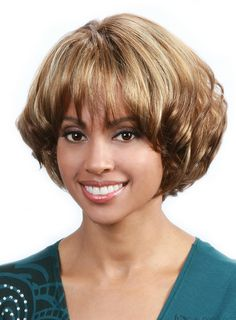 cocowig.com SUPPLIES 10 Inches Capless 120% Straight Synthetic Hair  Bob Style Wigs