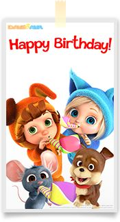 Dave and Ava Nursery Rhymes is a series of 3D animated nursery rhymes especially for young children, ages 1-4. Watch more on our YouTube channel: https://www.youtube.com/DaveAndAva
