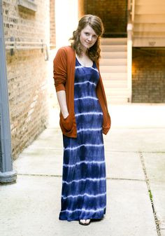 Tie dye mission maxi - I'm sooo making this!!!