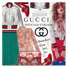 """""""Presenting the Gucci 2016 Cruise Collection"""" by barbarela11 ❤ liked on Polyvore featuring Gucci, gucci and polyvoreeditorial"""
