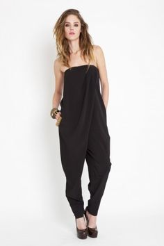 draped jumpsuit @Cristina Sanchez here is your weekend trashy fatty outfit.