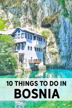Enjoy the Adventure - 10 Things to do in Bosnia & Herzegovina. One of Europe's most underrated counties. Explore the hidden gems in Bosnia. Featuring Stari Most in Mostar and the beautiful Blagaj.