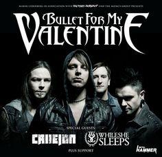 Bullet For My Valentine - Tour 2014 - Leipzig / Werk 2