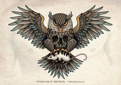 Cool Tattoo Flash | KYSA #ink #design #tattoo