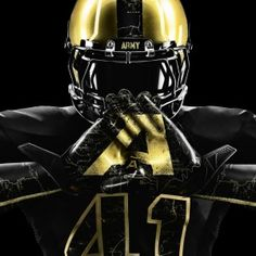 Nike's official photos of the new Army uniforms for their rivalry football game against the Navy.