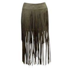 On the Fringe Skirt