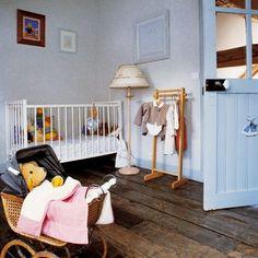 Aménager une chambre d'enfant avec un parquet en bois