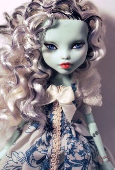 OOAK Mattel Monster High Frankie Stein Repaint Dressed Doll by Circlerose | eBay