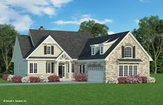 Home Plan The Colthorpe by Donald A. Gardner Architects