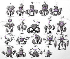 creaturebox robot silhouette - Google Search