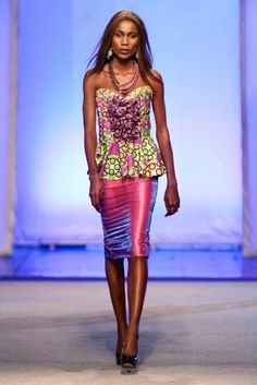 Gloria Sistar @ Kinshasa Fashion Week 2013 | FashionGHANA.com (100% African Fashion)FashionGHANA.com (100% African Fashion)