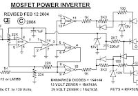 3000 Watt Inverter Circuit Diagram to complete pcb layout design. High power inverter circuit diagram see here for more information. Diy Electronics, Electronics Projects, Power Ranges, Electric Circuit, Electronic Schematics, Car Amplifier, Smart Home Automation, Circuit Design, Circuit Diagram