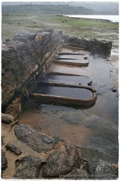 Roman baths of Bande ( Ourense ) Galicia - Spain. Places In Spain, Places To Go, Nature Pictures, Travel Pictures, Portugal Vacation, Spain And Portugal, Aragon, Beautiful Places To Visit, Spain Travel