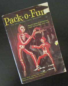 Pack- O- Fun Vintage October 1976 Craft Magazine, $5.00