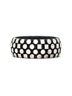 Silver & Black Code Writer Ring | e.g.etal | Melbourne