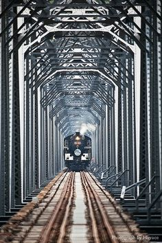 Da'anxi Bridge, Taichung #Taiwan 台中 大安溪鐵橋