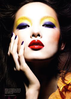 Recreate this look on your own photo using our MakeUp app! http://itunes.apple.com/us/app/makeup/id314603460?mt=8