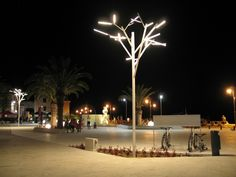 "Urban Lighting at Rogoznica - Sibenik, Croatia – Architectural project: ""25,4…"