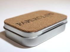 Project 24 Week 27 - Altoids Tins Desk Accessories