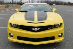 yellow chevy camaro | 2012 Yellow Chevy Camaro