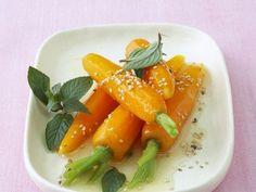 Gegarte Möhren mit Honigdressing ist ein Rezept mit frischen Zutaten aus der Kategorie Dressing. Probieren Sie dieses und weitere Rezepte von EAT SMARTER!