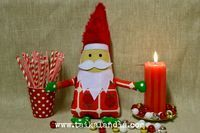 Cute handmade christmas gnomes!  #handmadegnomes #christmasgnomes #christmasdecor #christmas #santaclaus #gnomes #tomte #christmasdecoration #santa