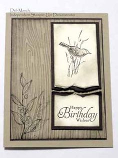 Neutral Nature by dcmauch - Cards and Paper Crafts at Splitcoaststampers