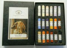 Emma Colbert Animal 18 Set of soft pastels by Unison