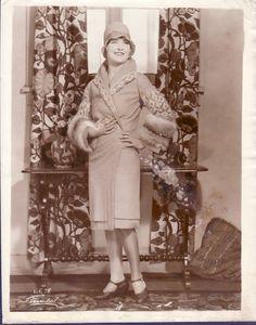 Fashion model, 1920s