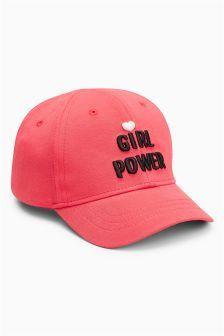 cff70b96fa7a5 Girl Power Cap (Younger Girls) Pink Hat