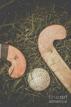 Antique still life photograph on two wooden hockey stick on a grass playing field. Vintage Hockey by Ryan Jorgensen Hockey Drawing, Field Hockey Girls, Field Hockey Sticks, Hockey Pictures, Basketball Drills, Basketball Quotes, Photo Wall Collage, Hockey Players, Ice Hockey