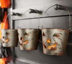 Halloween Luminary, Galvi Bucket