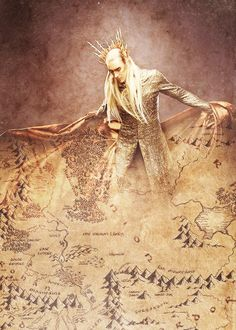 Man, oh man, the truth in this edit .... many don't know it, but Thranduil has been everywhere, seen the darkest places of Middle-Earth with Elrond and Gil-Galad, and it's .... amazing, wow