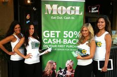 Best cash, back dining out program ever! http://www.mogl.com/ChrisLee