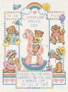 Dimensions Needlecrafts Counted Cross Stitch, Bear Buddies Birth Record by Dimensions Needlecrafts, http://www.amazon.com/dp/B000W5E4NM/ref=cm_sw_r_pi_dp_OBIKrb00BGHWV