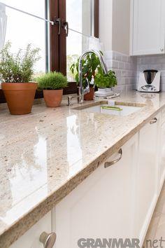 #Granit #Ivory #Cream w postaci blatu kuchennego