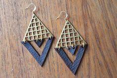 Infinity Geometry Earrings