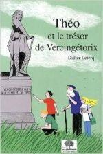 Théo et le trésor de Vercingétorix couv