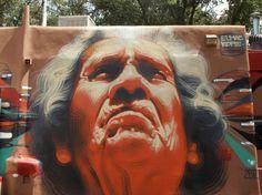 « Old Earth » par El Mac x Kofie, Santa Fe (Nouveau Mexique), Septembre 2012 - www.street-art-avenue.com
