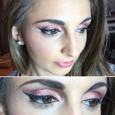 Pink sparkle for new year's eve makeup ✨ 💝 new years eve makeup, free Festival Makeup Glitter, New Years Eve Makeup, Freelance Makeup Artist, Face Jewels, Muscle, Purple Lips, Makeup Step By Step, Healthy Recipes For Weight Loss, Makeup Videos