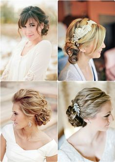 7 Glamorous Hairstyles for Bridesmaids 2013 bridesmaids chignon hairstyle 2013