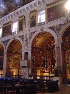 Interior of the Church of San Roque-3 (Largo Trindade Coelho - Lisbon) - Apr…