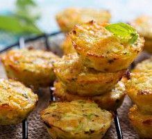 Recette - Petits flans aux courgettes,épinards et fromage - Notée 4/5 par les internautes