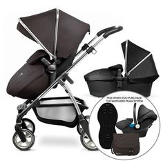 Wayfarer Pram and Pushchair with Carrycot from Silver Cross UK
