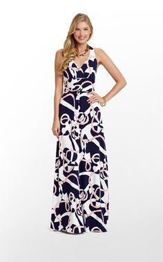 Lilly Pulitzer Amada Dress in Bright Navy Booze Cruise. I need this in my closet ASAP! Lilly Pulitzer Prints, Strapless Dress Formal, Formal Dresses, Maxi Dresses, Dress Lilly, Down South, Large Size Dresses, Playing Dress Up, Homecoming Dresses