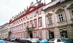 haffenecker / šporkovský palác /kol. 1760