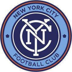 MLS logo for New York City FC  #mls #logo #design
