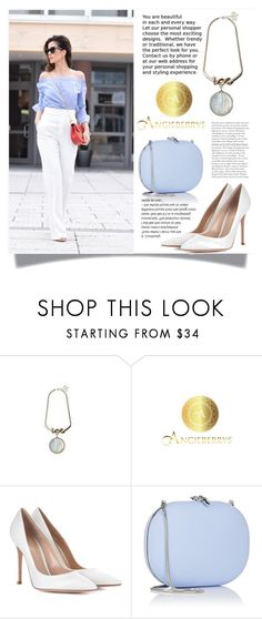 """""""Angieberrys 7"""" by blagica92 ❤ liked on Polyvore featuring Gianvito Rossi and Jeffrey Levinson"""